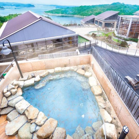 ホテル近鉄アクアヴィラ伊勢志摩の温泉(露天風呂)