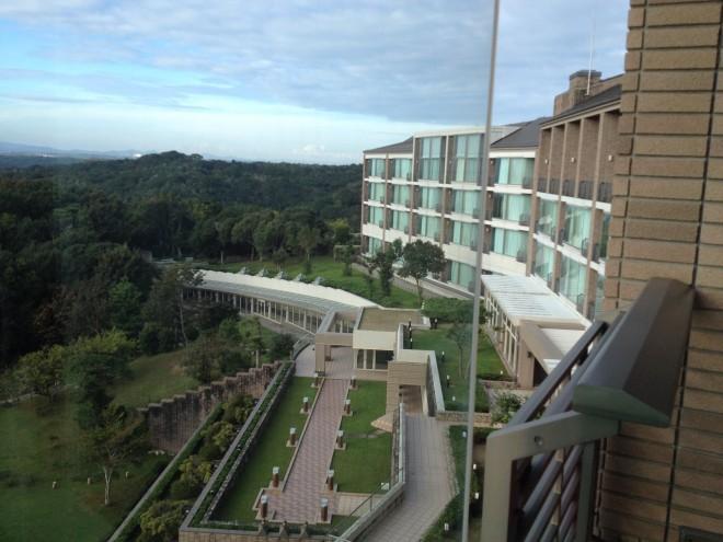 ホテル近鉄アクアヴィラ伊勢志摩の部屋 窓側
