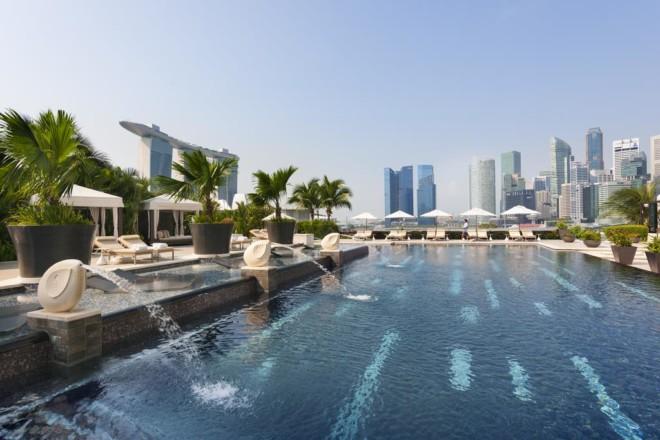 マンダリン オリエンタル、シンガポールのプール