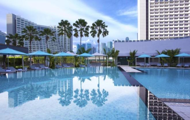 パン パシフィック シンガポールのプール