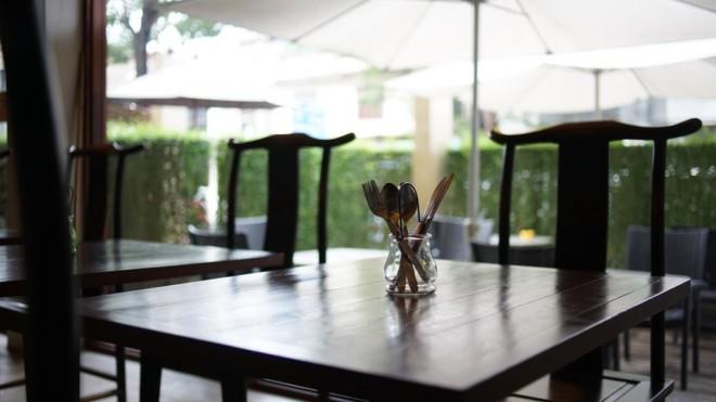 ヴィラ プラ スメン バンコクの朝食