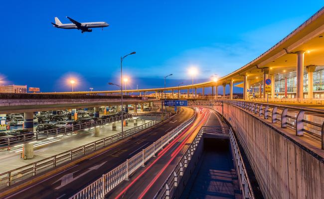 北京首都国際空港周辺