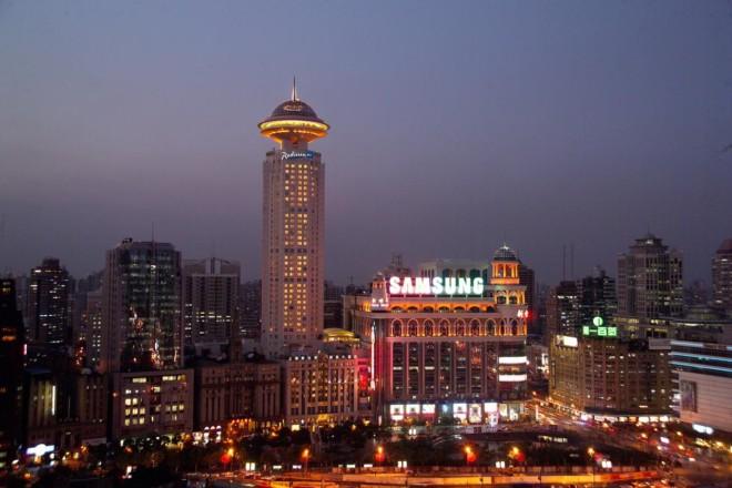 ラディソン ブル ホテル 上海 ニューワールド