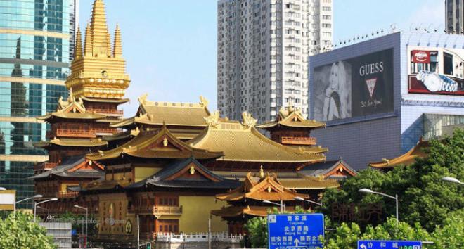 上海・静安寺