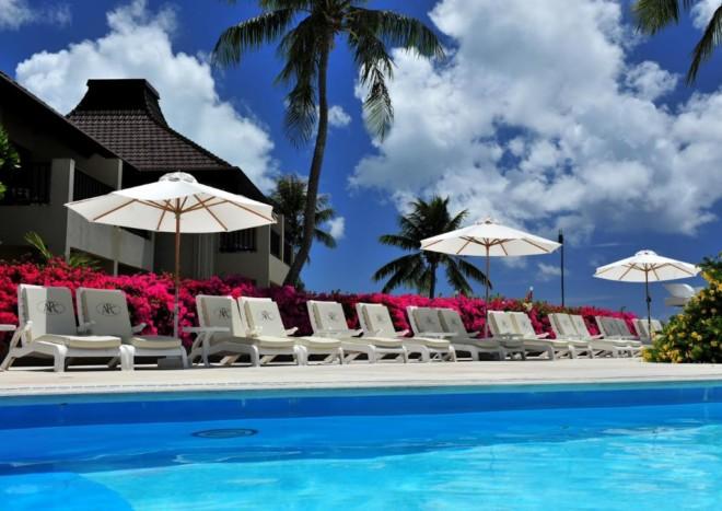 アクア リゾート クラブ サイパンのプール