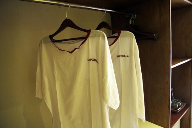 サポディラ ウブド ホテルのクローゼット