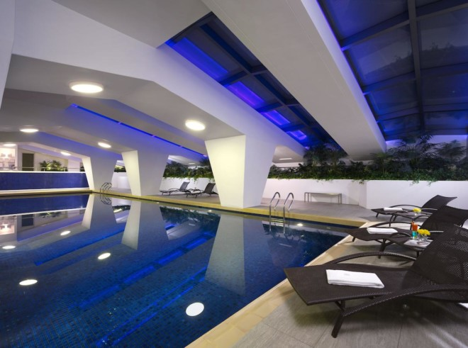ホテル ロイヤル マカオのプール