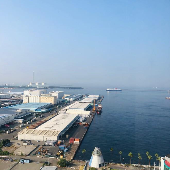 ハイアットリージェンシー 大阪 窓からの景色