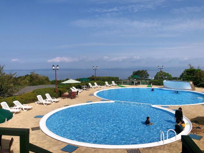 オリビアン小豆島 夕陽ヶ丘ホテルのプール