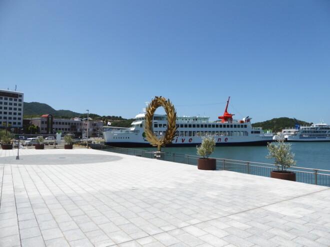 小豆島・土庄港